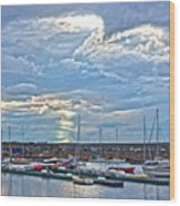Dun Laoghaire 32 Wood Print