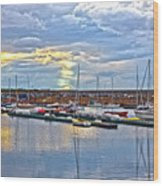 Dun Laoghaire 33 Wood Print
