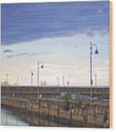 Dun Laoghaire 34 Wood Print