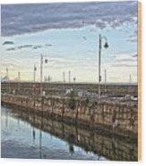 Dun Laoghaire 38 Wood Print