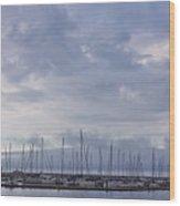 Dun Laoghaire 45 Wood Print