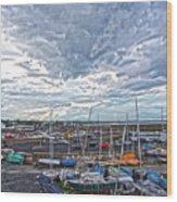 Dun Laoghaire 9 Wood Print