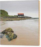 Dunaverty Bay Wood Print