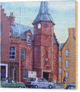 Dunbar High Street Wood Print