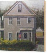 Duncan Homestead Wood Print
