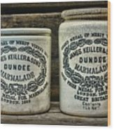 Dundee Marmalade Country Kitchen  Wood Print