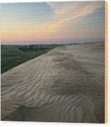 Dune Dawn Wood Print