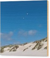 Dunes Of Danmark 1 Wood Print