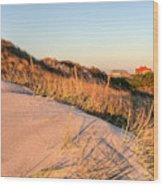 Dunes Of Fire Island Wood Print