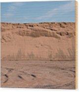 Dunes Of Sand Wood Print
