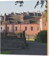Dunfermline. Abbot House. Wood Print