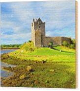 Dunguaire Castle Wood Print