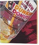 Dunkin Ice Coffee 29 Wood Print