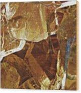 Dunkin Ice Coffee 6 Wood Print