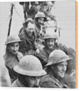 Dunkirk By John Springfield Wood Print