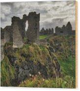 Dunluce Castle Wood Print