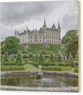 Dunrobin Castle 1325 Wood Print