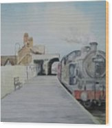 Dunstable Town Station Wood Print