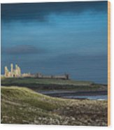 Dunstanburgh Castle In Northumberland Wood Print