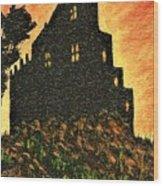 Duntrune Castle Argyll Scotland Wood Print