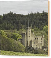 Dunvegan Castle Wood Print