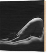 Duo-bodyscape - 4 Wood Print