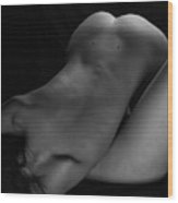 Duo-bodyscape - 6 Wood Print