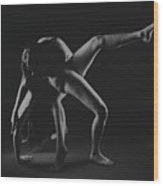 Duo-bodyscape - 8 Wood Print