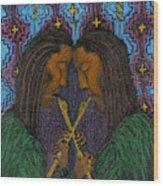 Duo Gebo Wood Print
