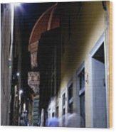 Duomo In The Dark Wood Print