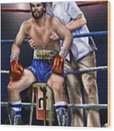 Duran Hands Of Stone 1a Wood Print