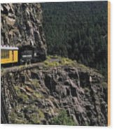 Durango - Silverton Train Wood Print