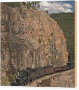 Durango/silverton Narrow Gauge Railroad Wood Print
