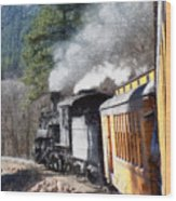 Durango Silverton Painterly 2 Wood Print