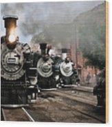 Durango - Silverton Railroad Wood Print