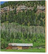 Durango Wood Print