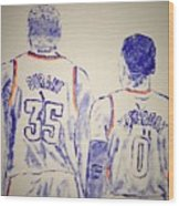Durant And Westbrook Wood Print