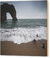 Durdle Door Wood Print