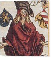 Durers Syphilitic Man Wood Print