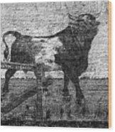 Durham's Bull Wood Print