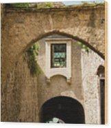 Durnstein Archways Wood Print