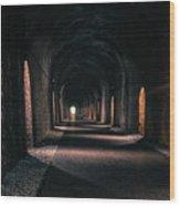 Durrow Tunnel Wood Print