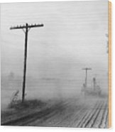 Dust Bowl, C1936 Wood Print