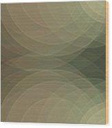 Dust Semi Circle Background Horizontal Wood Print