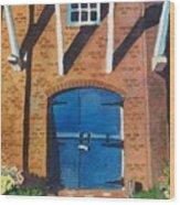 Dutch Door Wood Print