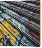 Dutch Graffiti Wood Print