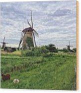 Dutch Icon Wood Print
