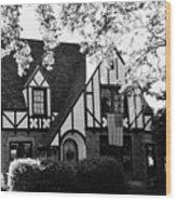 Dutch Manor  Wood Print