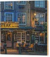 Dutch Steak Wood Print