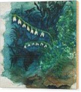 Dutchman's Breeches Wood Print